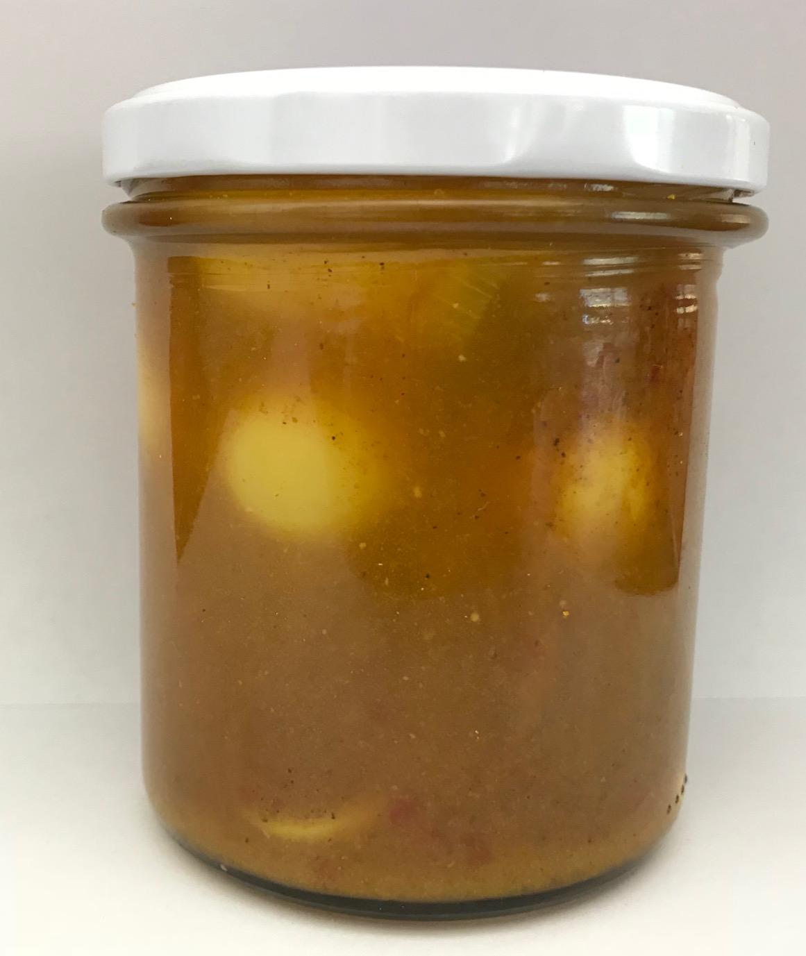 12 Wachtel Curry Eier
